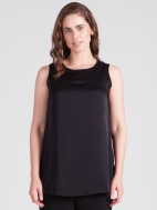 Silk High Neck Tank by Sympli