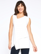 Sleeveless Charm Angle Tunic by Sympli