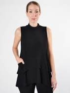 Sleeveless Waterfall Top by Sympli