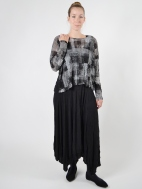 Solid Lori Skirt by Comfy USA