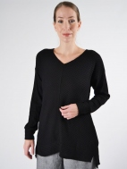 Split Decision Sweater by Sympli