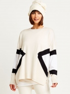 Sporty Knit Sweater by Planet