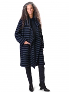 Stripe Boucle Jacket by Alembika
