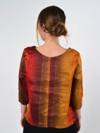 Sunset Stripe Top by Inizio