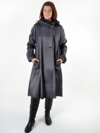 Tea Length Donatella Coat by Mycra Pac