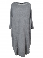 Textured Knit Tunic Dress by Grizas