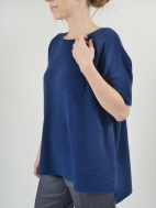 Textured Trim Popover by Kinross Cashmere