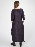 Textured Wave Dress by Grizas