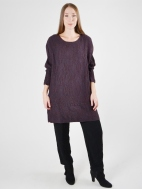 Textured Wave Tunic by Grizas