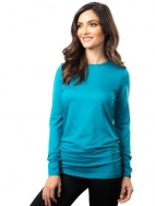 The Long Sleeve Ruched Top by A'nue Miami