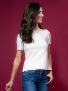 The Perfect Short Sleeve Tee by A'nue Miami