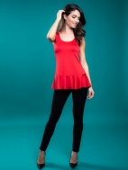 The Ruffle Tank by A'nue Miami