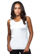 The V/Scoop Neck Reversible Tank by A'nue Miami