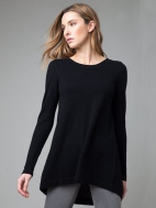 Tie Back Tunic by Kinross Cashmere