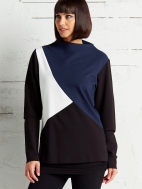 Tri Color Top by Planet