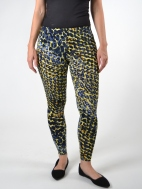 Tropical Print Legging by Comfy USA