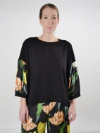Tulip Sleeve Top by Alembika