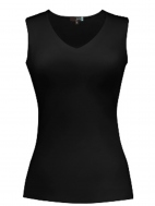 V-Neck Sleeveless Top by Judy P
