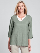 V Pullover by Flax