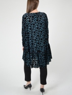 Velvet Dot Tunic by Alembika