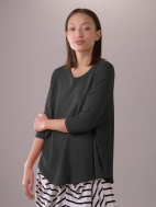 Vented Swing Top, Black by Composition