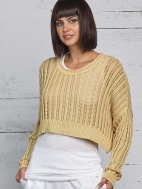 Washed Mini Sweater by Planet
