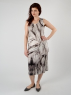 Waterfall Print Dress by Kinross Cashmere