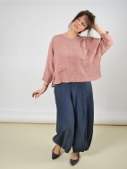 Wide Linen Trousers by Grizas
