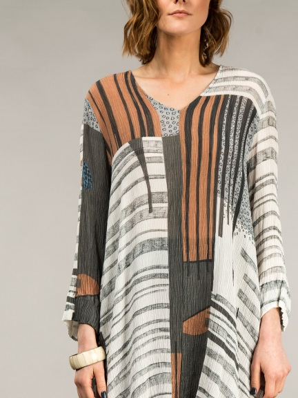 Abstract Tunic by Grizas