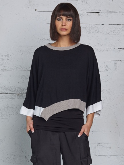 Bell Sleeve Knit Top by Planet