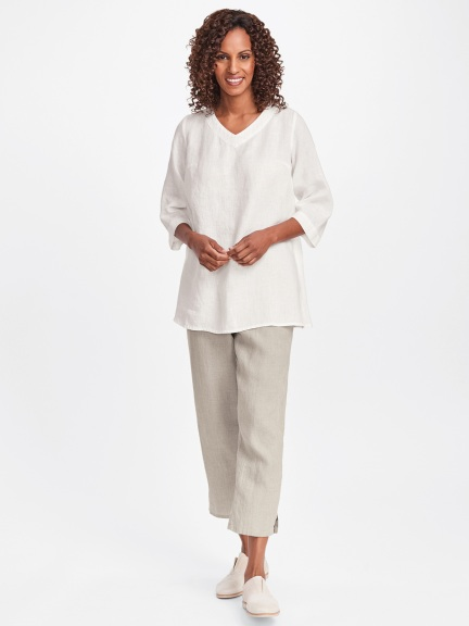 Bloom V-neck Tunic by Flax