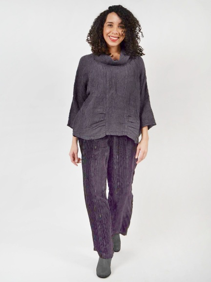 Burnout Velvet Trousers by Grizas