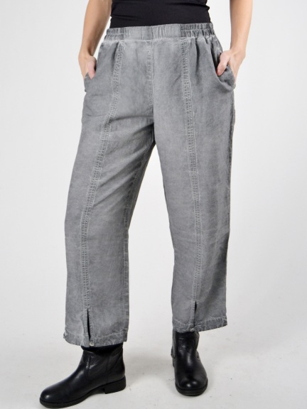 Grizas Silk and Linen Blend Wide Leg Trousers