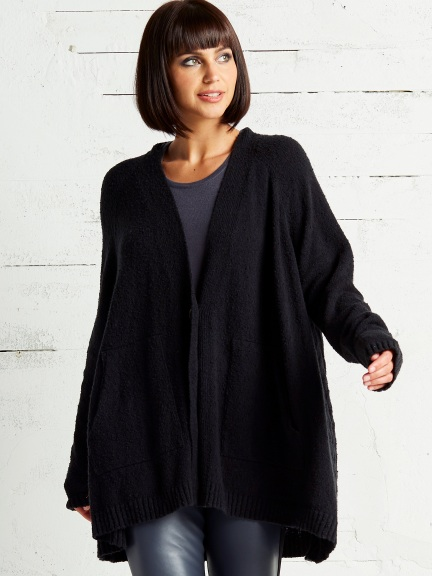 Cableback Cardigan by Planet