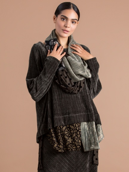 Chenille Layered Top by Alembika