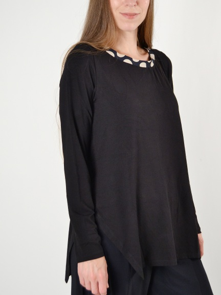 Circle Long Sleeve Tee by Alembika