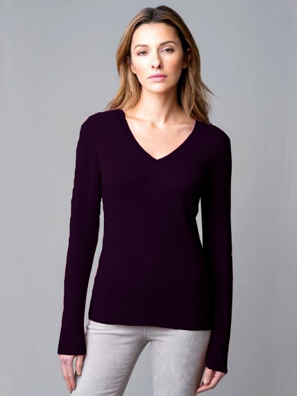 Classic Vee by Kinross Cashmere