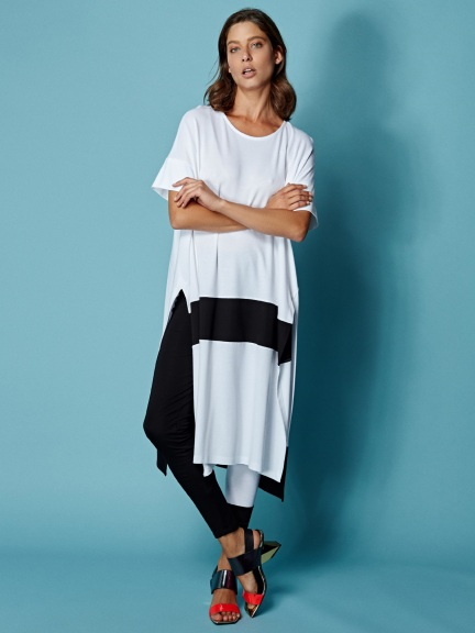 Color Block Tunic by Alembika