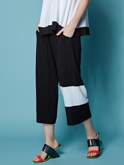 Color Blocked Pant by Alembika