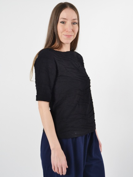 Crinkle Wave Top by Klok