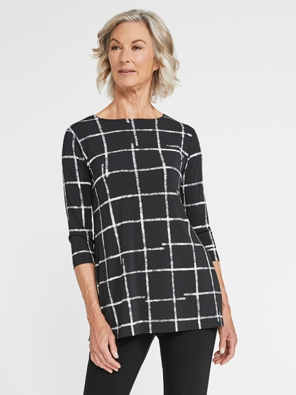 Crosshatch Nu Ideal Tunic by Sympli