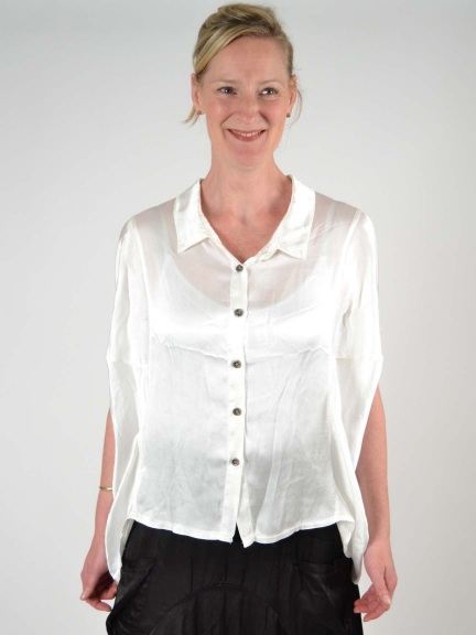 Dolman Yoke Blouse by Inizio