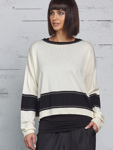 Film Strip Sweater by Planet