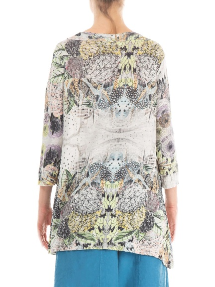 Flowers Print Tunic by Grizas