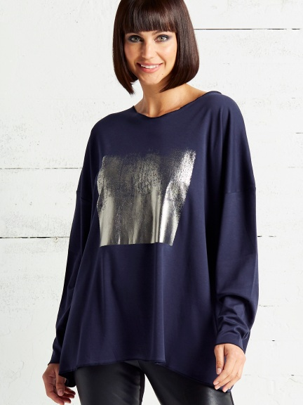 Foil Hipster Tee by Planet