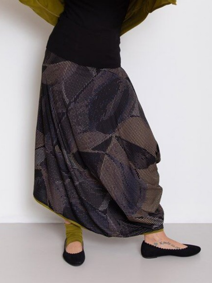 Graphic Fantasy Skirt by Chiara Cocol