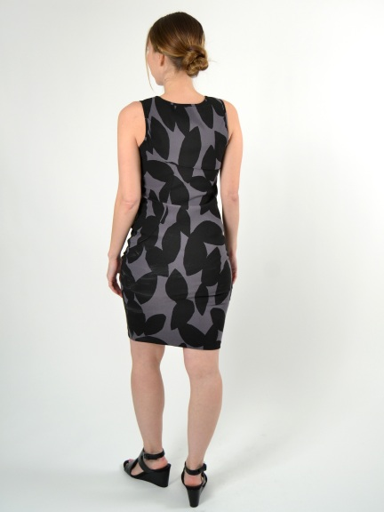 Graphic Print Cubano Dress by Porto