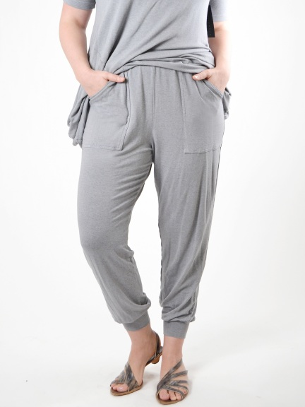 8a94d808ca Grey French Terry Cargo Pant