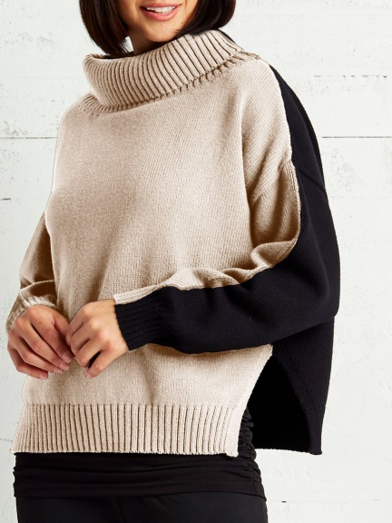 Half & Half Sweater by Planet