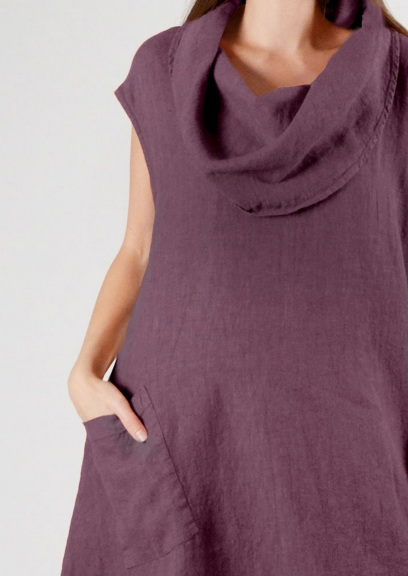 Heavy Linen Nolan Tunic by Bryn Walker